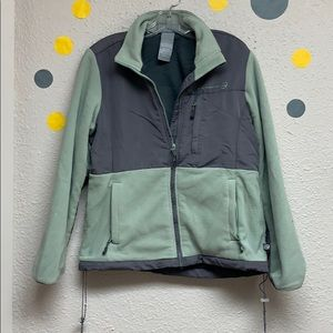 Free country green and gray jacket size large